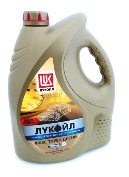 Полусинтетическое моторное масло Lukoil Luxe Турбодизель 10w-40
