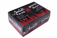 Уголь в пластинах для кальяна 150 шт.