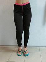 Женские спортивные лосины CATMANDOO (822819) черные  код 043 Б
