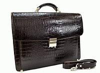 Мужской кожаный портфель DESISAN