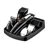 Машинка для стрижки волос Geemy Gm-853 с насадками для носа и ушей 5в1 SKL11-322481