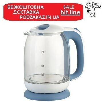 Електрочайник Maestro White / Blue (MR-056)