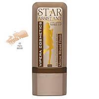 """Тональный крем Vipera Cosmetics """"STAR ASSISTANT"""" цвет №02 Paris BEIGE, фото 1"""