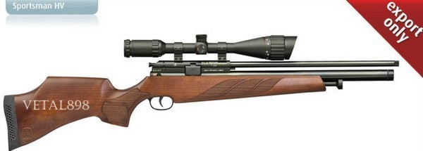 BSA-GUNS Sportsman HV 4,5 мм,300 m/s,10 зарядн. (Бса Спортсман)