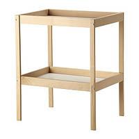 Пеленальный столик деревянный ручной работы