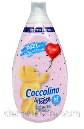 """Ополіскувач для білизни Coccolino Intense """"Східний квітка"""" (64 циклу), 960 мл"""