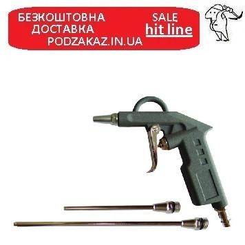 Пістолет продувний з набором наконечників (26/122/212мм) SIGMA (6831031)