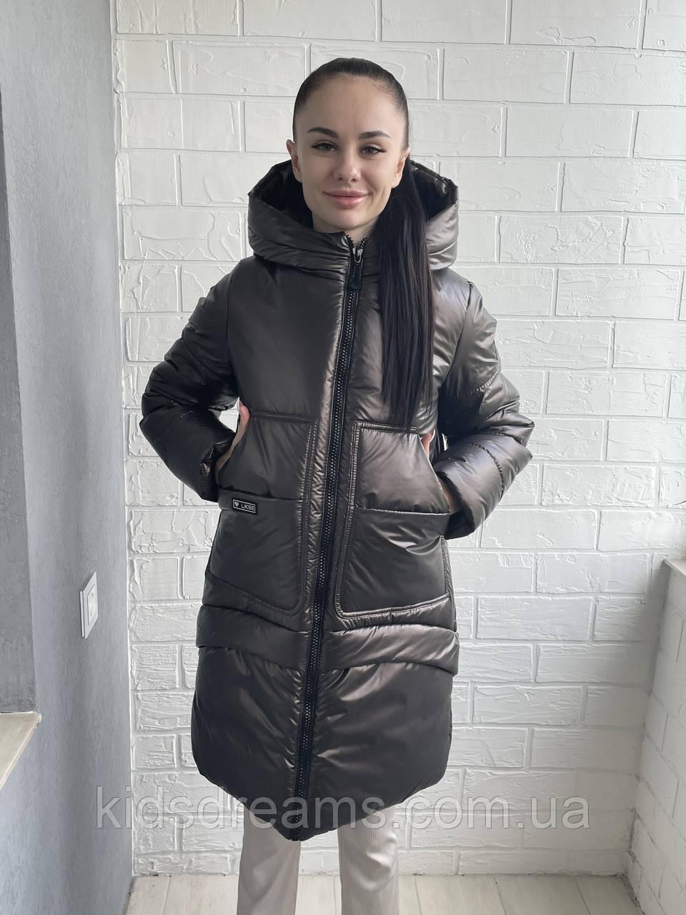 """Зимнее Пальто на девочку «Клео"""""""