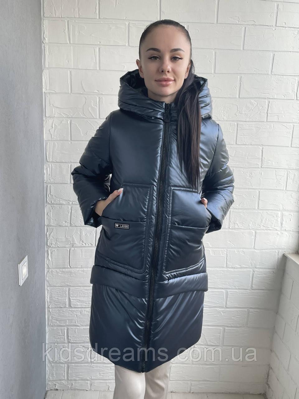 """Куртка Зимняя для девочек  """"Кензо"""