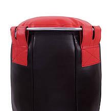 Мешок боксерский Силуэт Кожа h-120см BOXER (наполнитель-ветошь х-б), фото 3
