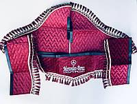 Штори в кабіну Мерседес MERСEDES-Benz світловідбиваючий логотип, фото 1