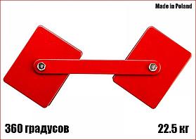 Струбцина магнітна для зварювання 360 градусів 22.5 кг Yato YT-0862