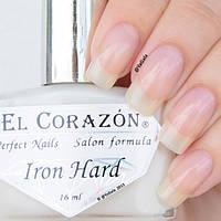 Укрепитель для ногтей лак Железный коготь 418 от EL Corazon 16 мл