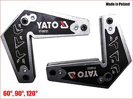 Набір магнітних тримачів для зварювальних робіт 2 шт. Yato YT-08721