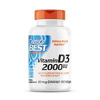 Вітаміни і мінерали Doctor's s Best Vitamin D3 2000 IU, 180 капсул