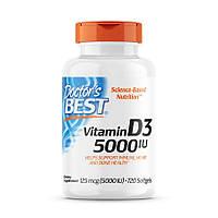 Вітаміни і мінерали Doctor's s Best Vitamin D3 5000 IU, 720 капсул