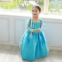 Платье Эльзы из м/ф «Холодное сердце» для девочки 2-7 лет