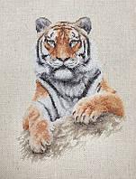 "Набор для вышивания нитками ""Тигр"""