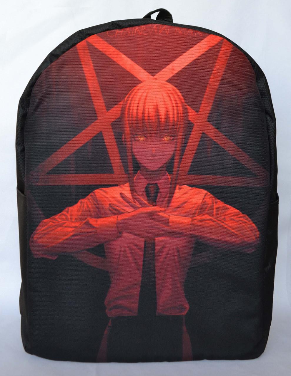 Рюкзак аниме Человек-бензопила - Макима