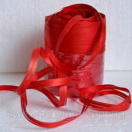 Рафія на метраж (червоний), фото 2