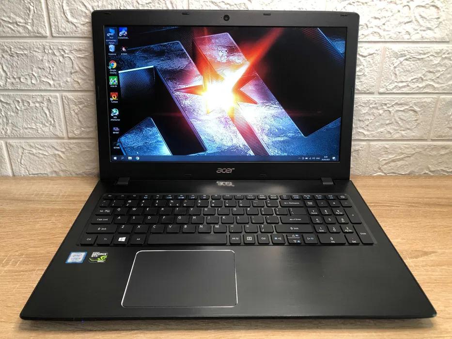 Ігровий Ноутбук Acer E5-575G + GTX 950m + SSD 128 + HDD 1TB + 16 ОПЕРАТИВНОЇ пам'яті DDR4