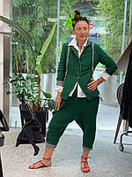 Костюм женский зеленый Wendy Trendy 21-791662