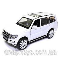 Іграшкова машинка металева «Mitsubishi Pajero 4WD Turbo» Автопром Мітсубісі, білий, 14*5*5 см, (68463), фото 2