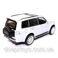 Іграшкова машинка металева «Mitsubishi Pajero 4WD Turbo» Автопром Мітсубісі, білий, 14*5*5 см, (68463), фото 3