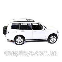 Іграшкова машинка металева «Mitsubishi Pajero 4WD Turbo» Автопром Мітсубісі, білий, 14*5*5 см, (68463), фото 4