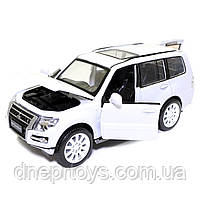 Іграшкова машинка металева «Mitsubishi Pajero 4WD Turbo» Автопром Мітсубісі, білий, 14*5*5 см, (68463), фото 5