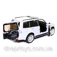 Іграшкова машинка металева «Mitsubishi Pajero 4WD Turbo» Автопром Мітсубісі, білий, 14*5*5 см, (68463), фото 6