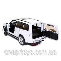 Іграшкова машинка металева «Mitsubishi Pajero 4WD Turbo» Автопром Мітсубісі, білий, 14*5*5 см, (68463), фото 7