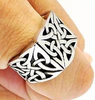 Мужское кольцо перстень Кельтский печатка