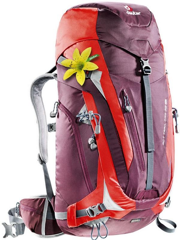 Рюкзак DEUTER ACT Trail PRO 38 SL 3441215 5522 фиолетовый