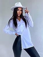 Сорочка жіноча стильний повсякденний подовжена різні кольори Rdv771