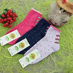 Носки детские демисезонные с рисунком, для девочки, ЕКО, р16(5-6), случайное ассорти, 30032297