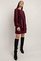 Лаконичное повседневное платье Регина А-силуэта с горловиной-лодочкой 42-52 размер разные цвета