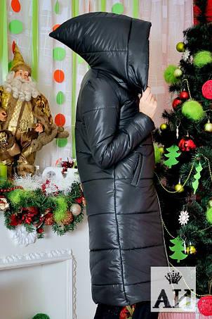 Женское пальто плащевка на синтепоне , фото 2