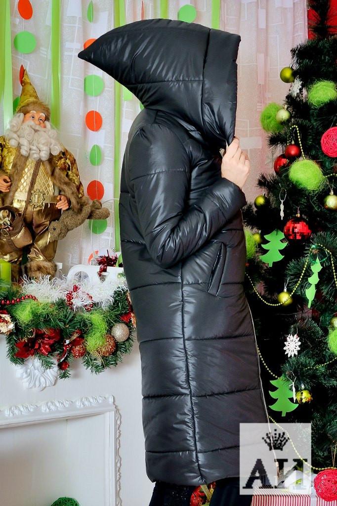 Женское пальто плащевка на синтепоне