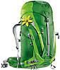 Походной надежный женский рюкзак DEUTER ACT Trail PRO 38 SL 34412155522 зеленый