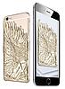 Золотой чехол Ангел с крыльями iphone 6/6S