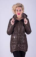 Куртка-парка женская молодежная Damader №607.