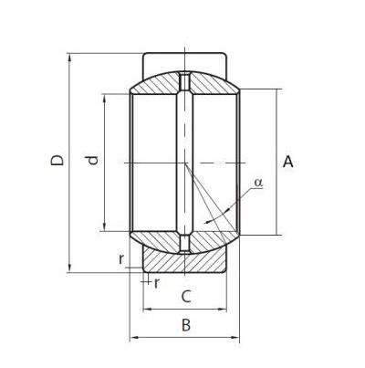 Підшипник ШСЛ80 (CCL 80)  АПП, розміри:80*120*76, фото 2