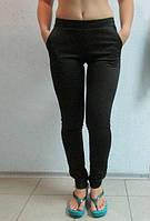 Женские спортивные лосины AOBOQIS (13117) черные  код 045 Б