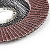 Круг лепестково-торцевой Р80 прямой 125 мм (Т27) (КЛТ) APRO, фото 3