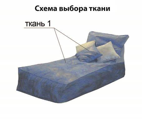 Козетка с 3 подушками (Матролюкс ТМ), фото 2