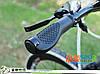 Ергономічні прогумовані велосипедні гріпси (чорні), фото 2