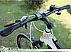 Эргономические прорезиненные велосипедные грипсы (черные), фото 5