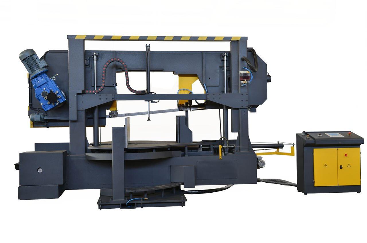 Полуавтоматическая ленточная пила по металлу Beka-Mak BMSY-750DG NC