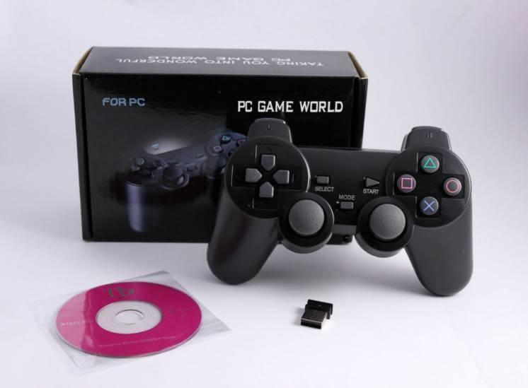 Беспроводной Игровой ДЖОЙСТИК геймпад для ПК Wonderful DualShock Wireless PC PS3 Xbox с Радио Подключением